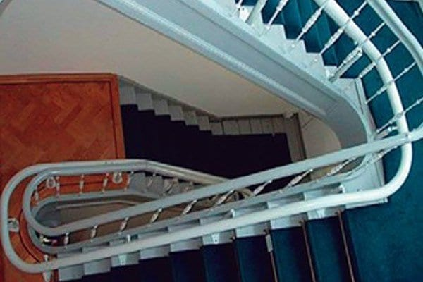 Custom Curved Stairlifts | Curved Rail, Chair Lifts | AIP