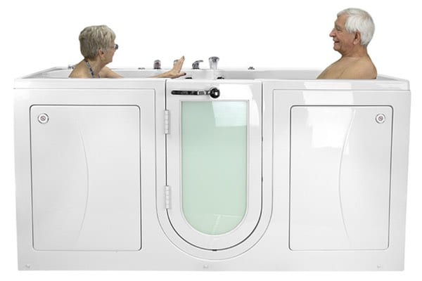 Ella's Bubbles 2 Seat 2 Person Walk-In Tub