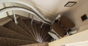 Stair Lift Cost For A Home Stair Lift